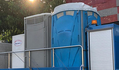 portable shower and toilet | Chiller rental